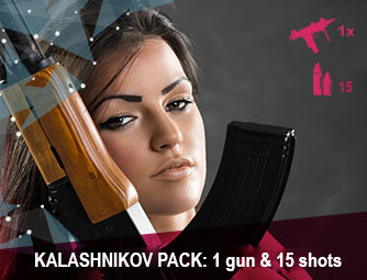 Ladies pack: 3 guns & 30 shots