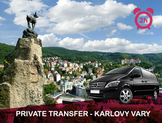 Tour and Transport to Karlovy Vary for 1 - 8 people
