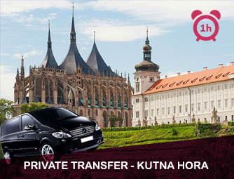 Tour and Transport to Kutná Hora for 1 - 8 people