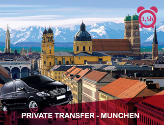 Tour and Transport to München for 1 - 8 people