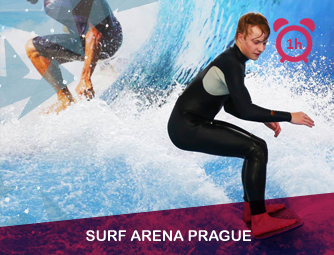 Surf Arena Prague - 60 mins